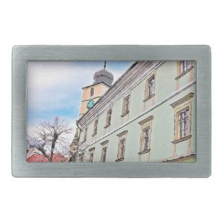 Torre del consejo, pintura de Sibiu Hebillas De Cinturon