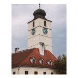 Torre del consejo, Sibiu Tarjetón