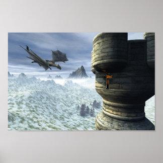 Torre del dragón póster