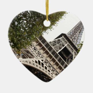torre del eifel, amor, París, Francia Ornamentos De Reyes