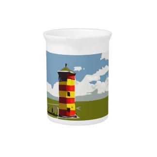 Torre del faro jarra