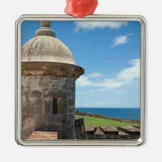 Torre del fuerte de San Cristobal Adornos De Navidad