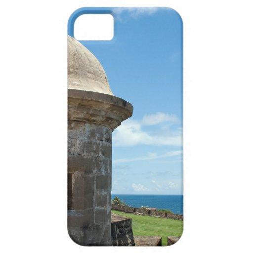 Torre del fuerte de San Cristobal iPhone 5 Case-Mate Fundas