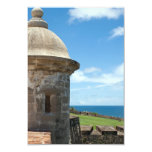 """Torre del fuerte de San Cristobal Invitación 3.5"""" X 5"""""""