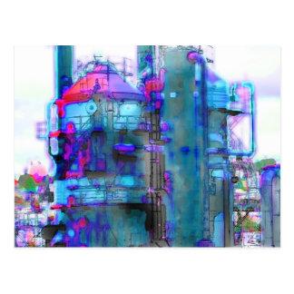 torre del gas de Seattle Tarjetas Postales