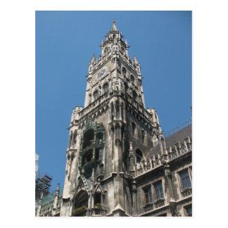 Torre del Glockenspiel - Munich, Alemania Tarjetas Postales