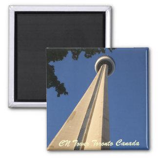 Torre del NC Toronto Canadá Imán De Nevera