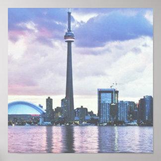 Torre del NC: Visión desde la isla de centro Toron Posters