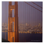 Torre del norte de San Franciscos Azulejo