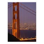 Torre del norte de San Franciscos Invitación 12,7 X 17,8 Cm