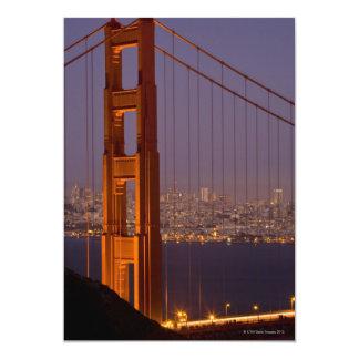 """Torre del norte de San Franciscos Invitación 5"""" X 7"""""""