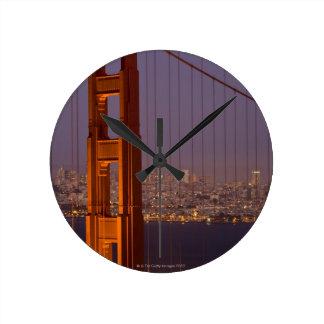 Torre del norte de San Franciscos Reloj De Pared