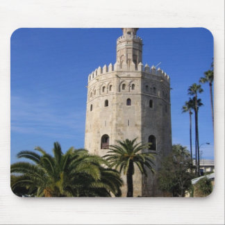 Torre Del Oro Mouse Pads