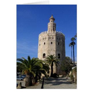 Torre Del Oro Felicitación