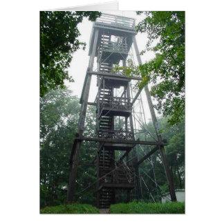 Torre del parque de Wisconsin Felicitación