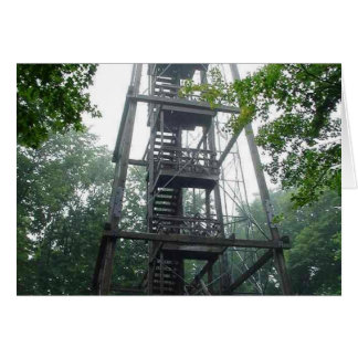 Torre del parque de Wisconsin Tarjeton