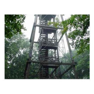 Torre del parque de Wisconsin Tarjeta Postal