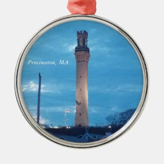 Torre del peregrino, Provincetown, ornamento 1 del Adorno De Navidad