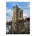 Torre del puente de Brooklyn Tarjetas