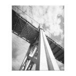 Torre del puente de la bahía de San Francisco Oakl Lona Envuelta Para Galerias