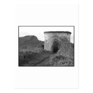 Torre del puesto de observación de la madriguera postal