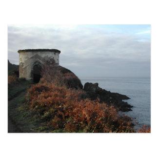 Torre del puesto de observación de la madriguera postales