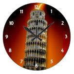 Torre del reloj de pared de Pisa