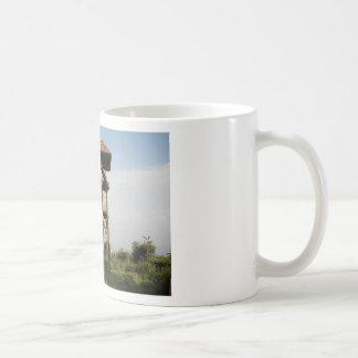 Torre del reloj tazas de café