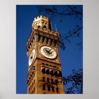 Torre del Seltzer de Bromo - Baltimore Maryland Impresiones