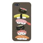 Torre del sushi - amigos del sushi de la diversión iPhone 5 cárcasa