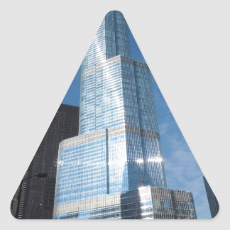 Torre del triunfo pegatina triangular