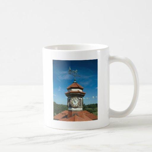 Torre del Weathervane y de reloj Taza De Café