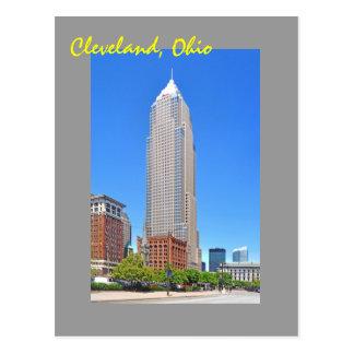 Torre dominante, Cleveland, Ohio, los E.E.U.U. Tarjeta Postal