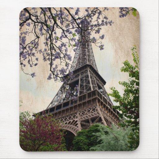 Torre Eiffel 2 del vintage Mouse Pad