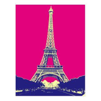 Torre Eiffel 2 Tarjeta Postal