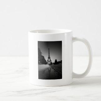 Torre Eiffel 3 Taza Básica Blanca