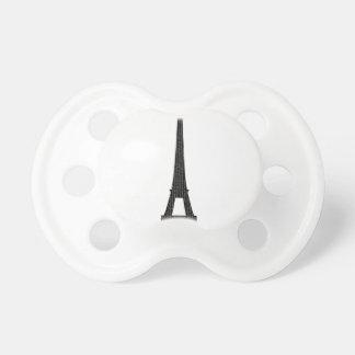 Torre Eiffel #4 Chupete De Bebe