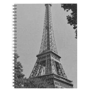 Torre Eiffel 4 Libros De Apuntes