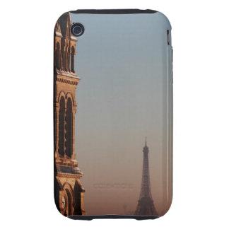 Torre Eiffel 7 Tough iPhone 3 Cárcasa