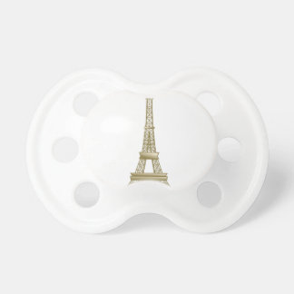 Torre Eiffel #8 Chupete De Bebé