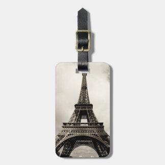 Torre Eiffel 8 Etiqueta Para Maleta