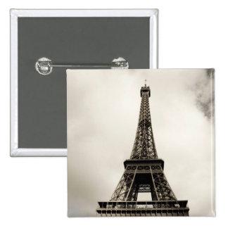 Torre Eiffel 8 Pin Cuadrado
