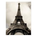 Torre Eiffel 8 Tarjetas Postales