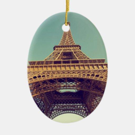 Torre Eiffel Adorno De Navidad