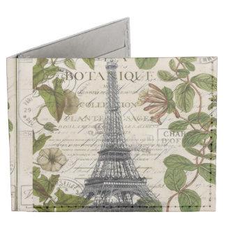 torre Eiffel botánica femenina de París del Billeteras Tyvek®