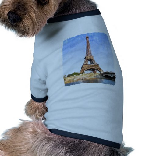 Torre Eiffel Camisetas Mascota