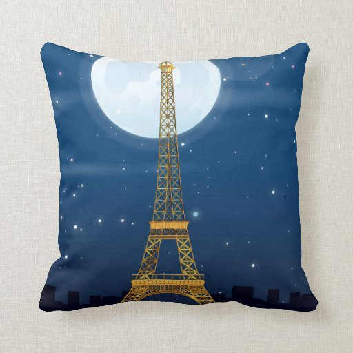 Torre Eiffel Cojines