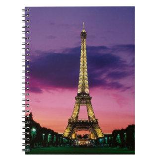 Torre Eiffel Cuadernos