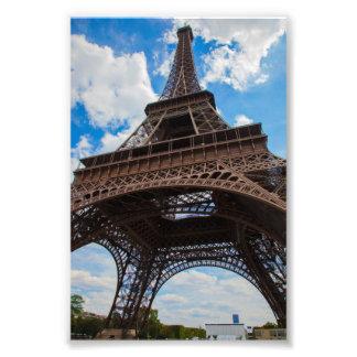 Torre Eiffel de debajo Fotografía