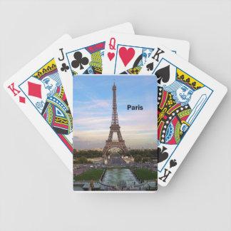 Torre Eiffel de Francia París (nueva) (St.K) Baraja De Cartas